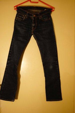 Dunkelblaue Nudie Jeans, Größe 29/32