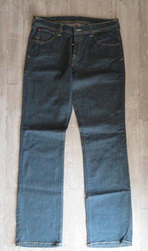 Puma Straight Leg Jeans dark blue-blue mixture fibre