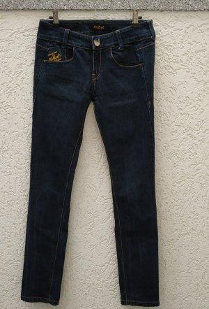 dunkelblaue Röhren-Jeans von Killah Gr 28