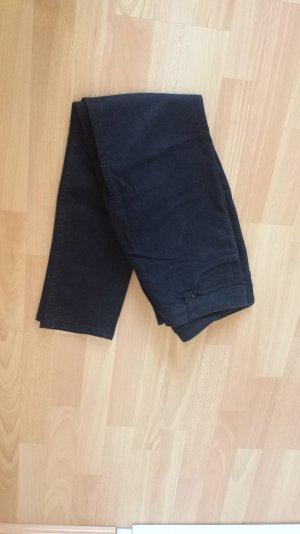 Dunkelblaue Röhren Jeans von QS