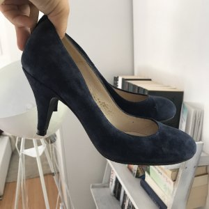 Cox High Heels blue-dark blue