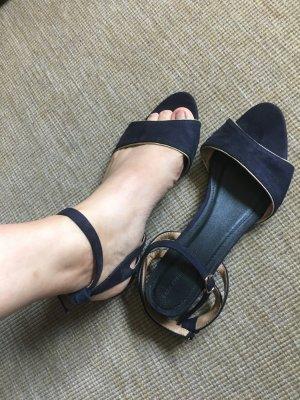 Zara Sandalias para uso en exteriores azul oscuro