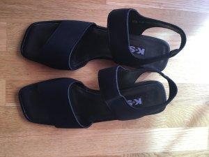 dunkelblaue Sandalen von K+S Shoes