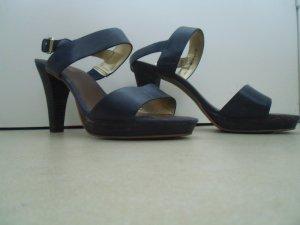 dunkelblaue Sandalen von Marc O'Polo