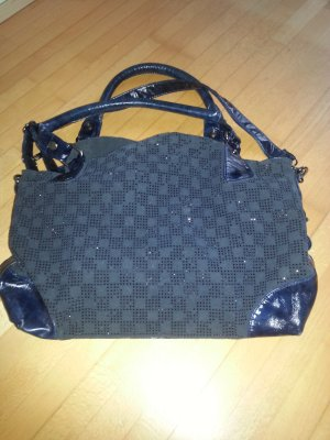 Shopper donkerblauw