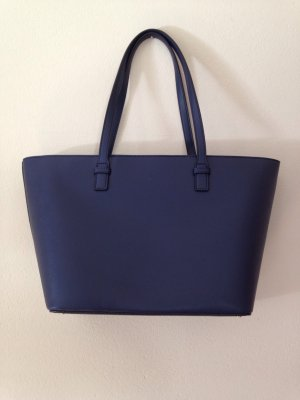 Dunkelblaue Shopper-Tasche