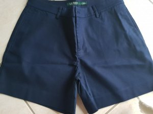 dunkelblaue Short