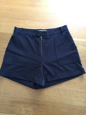 Dunkelblaue Shorts von Mango