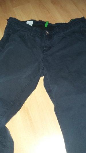 Dunkelblaue Skinny Hose