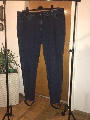 b.p.c. Bonprix Collection Drainpipe Trousers multicolored mixture fibre