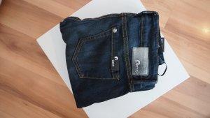 dunkelblaue Skinny Jeans von Gang in Größe 25