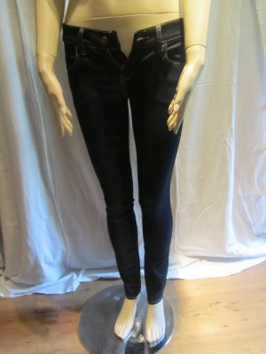 Dunkelblaue Skinny Jeans von H&M