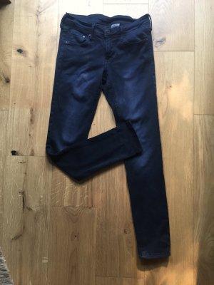 Dunkelblaue Skinny / Röhren Jeans NEU Low Waist 27/30