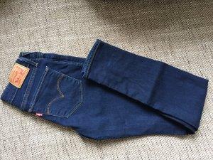 Dunkelblaue Skiny Jeans