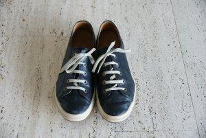 Dunkelblaue Sneaker, Größe 43, guter Zustand