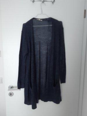 Esprit Gilet tricoté bleu-bleu foncé