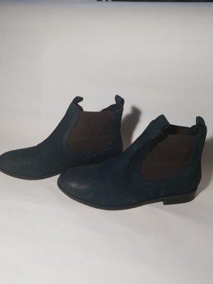 Dunkelblaue SPM Chelsea Boots