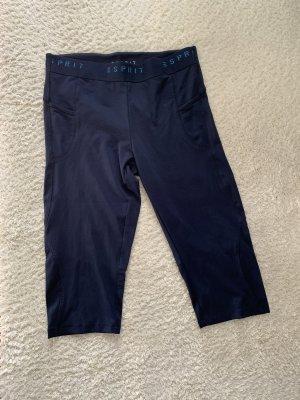 Esprit pantalonera azul oscuro