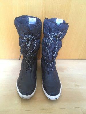 Dunkelblaue Stiefel/Boots von Lacoste