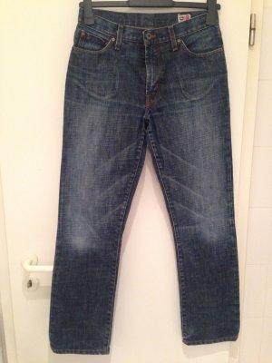 Dunkelblaue Straight-Jeans von Guess in Größe 40 (INCH 30)