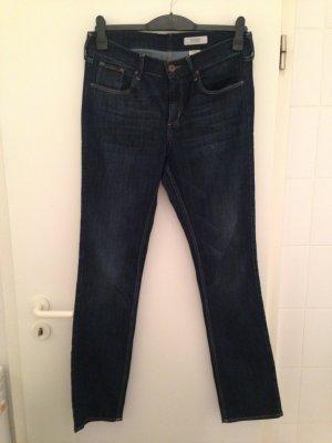 Dunkelblaue Straight-Jeans von H&M in Größe 32x32 (42)