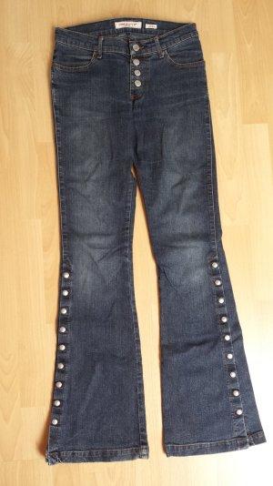 Dunkelblaue Stretch-Jeans von Miss Sixty