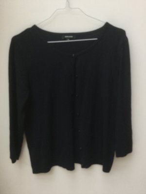 More & More Veste en tricot bleu foncé viscose
