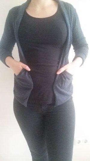 dunkelblaue Strickjacke von Mazine in Größe S
