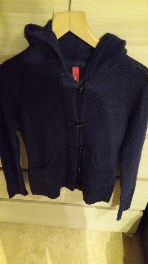 dunkelblaue Strickjacke von Vero Moda