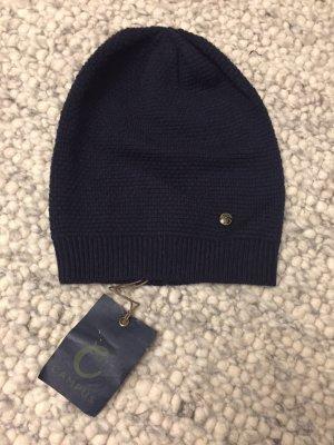 Campus Sombrero de punto azul oscuro