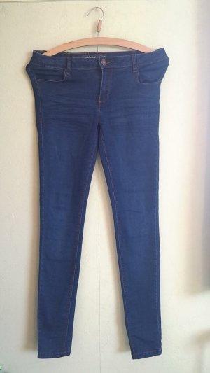 dunkelblaue stylische skinny jeans in Größe 27 entspricht 34