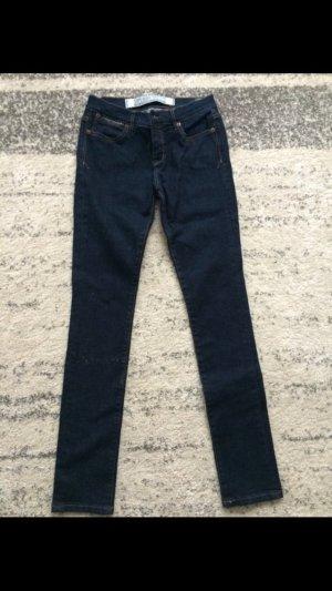 Dunkelblaue Superdry Jeans
