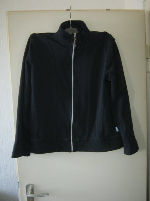 dunkelblaue Sweatshirt-Jacke