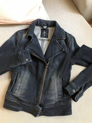 Dunkelblaue taillierte Jeans-Jacke (xs) von LTB