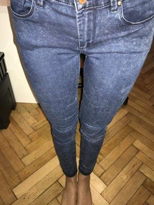 Dunkelblaue Topshop Jeans (Leigh Modell)