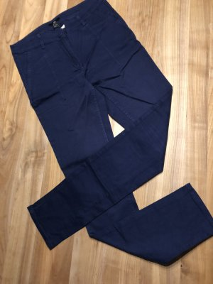 H&M Tregging blauw-donkerblauw