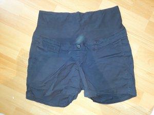 dunkelblaue Umstands Shorts von H&M