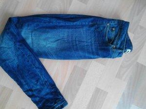 dunkelblaue usedlook Jeans