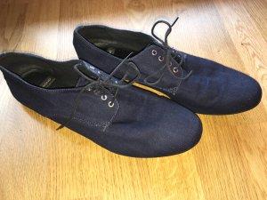 Dunkelblaue Vagabond Stoffschuhe/Sneaker in Gr.40