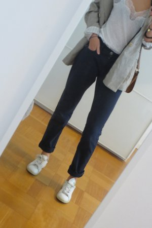 Dunkelblaue Vero Moda Jeans straight/skinny