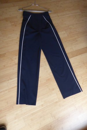 Marlene Trousers blue-white copper rayon