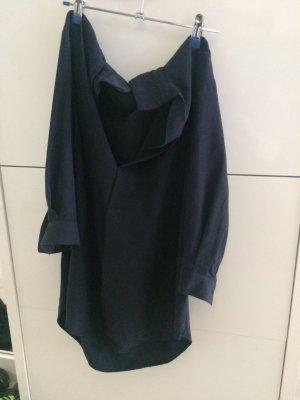 dunkelblaue weite Bluse Gr.M von Zara Woman