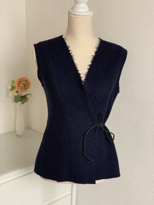 Zebratod by Ilona von Preuschen Vest donkerblauw-blauw