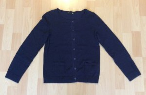 Dunkelblaue Weste/Pullover von H&M in der Größe xs