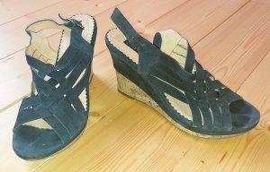 Dunkelblaue Wildleder Schuhe von Görtz