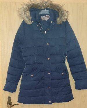Mint&berry Abrigo corto azul oscuro