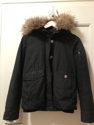 sale retailer c1a00 40f0f dunkelblaue Woolrich Winterjacke in xs