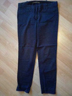 Zara Pantalon strech bleu-bleu pétrole