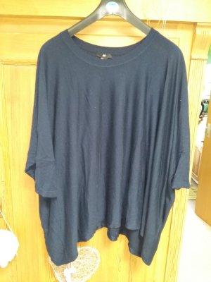 dunkelblauen Oversized Pullover H&M S