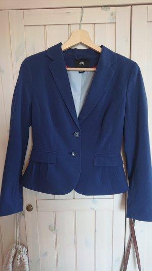 H&M Blazer de esmoquin azul-azul oscuro